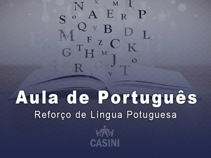 Reforço De Língua Portuguesa